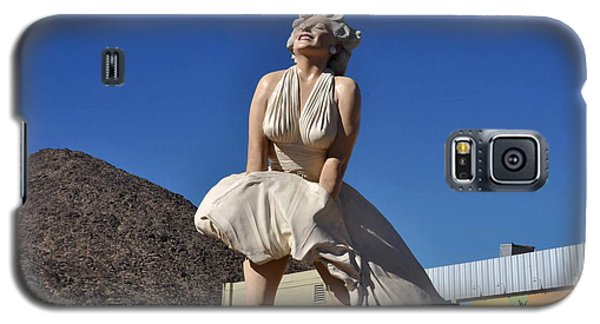 Marilyn Monroe Statue In Palm Springs California Galaxy S5 Case