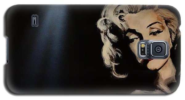 Galaxy S5 Case featuring the painting Marilyn Monroe - Tmi by Eric Dee