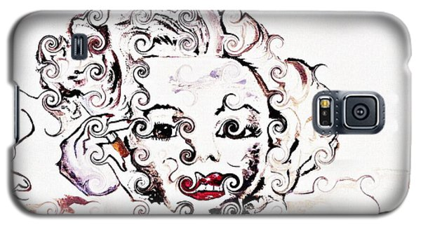Marilyn Monroe With Diamonds Are A Girls Best Friend 2 Galaxy S5 Case