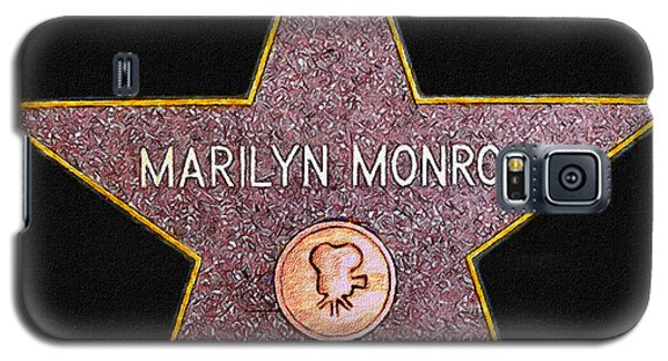 Marilyn Monroe's Star Painting  Galaxy S5 Case
