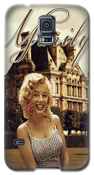 Marilyn Paris Monroe Galaxy S5 Case