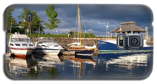 Marina At Charlottetown Prince Edward Island Galaxy S5 Case by Joyce Gebauer