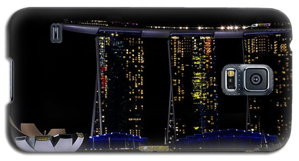 Marina Bay Sands Integrated Resort Hotel And Casino And Artscience Museum Singapore Marina Bay Galaxy S5 Case