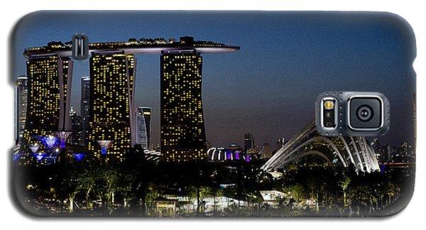 Marina Bay Skyline Galaxy S5 Case