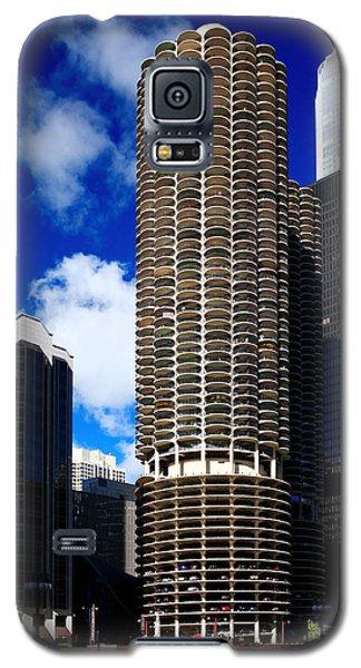Marina City Corncob Tower Galaxy S5 Case