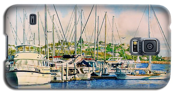 Marina Del Rey Afternoon Galaxy S5 Case