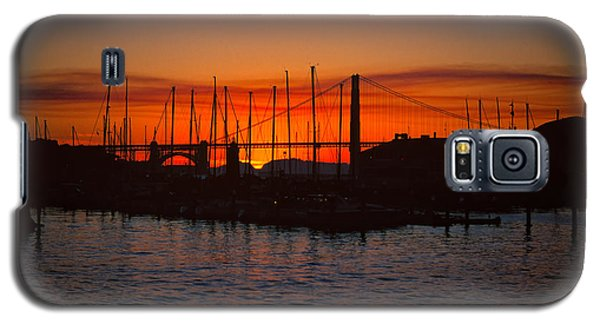 Marina Sunset Galaxy S5 Case