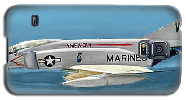 Marine F-4 Phantom  Painting Galaxy S5 Case