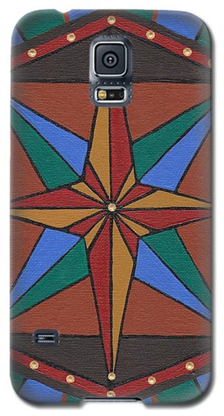 Mariner Rose Galaxy S5 Case by Barbara St Jean