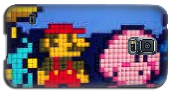 Nerd Galaxy S5 Case - #mario #supermario #smb by Katie Ball