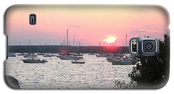 Galaxy S5 Case featuring the photograph Marion Massachusetts Bay by Kathy Barney