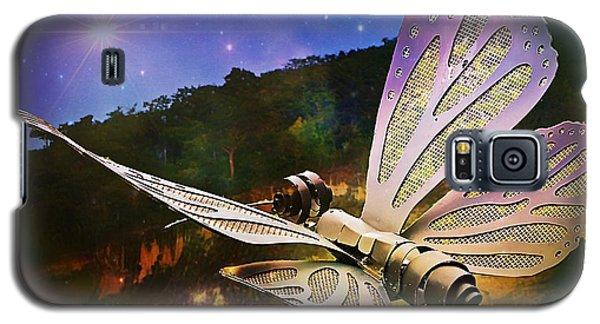 Mariposa Galactica Galaxy S5 Case by Lilliana Mendez