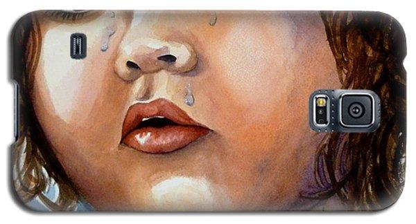 Crying Blue Eyes Galaxy S5 Case