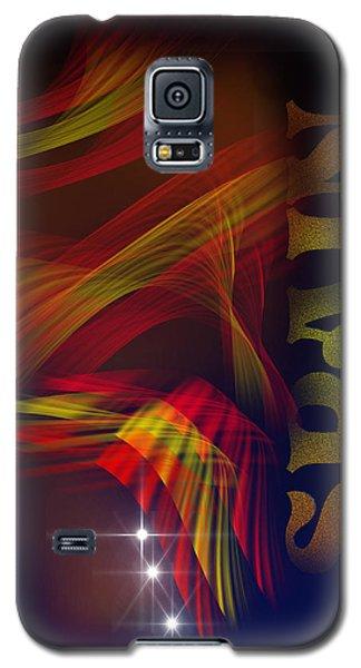 Galaxy S5 Case featuring the digital art Mark Spain by Angel Jesus De la Fuente