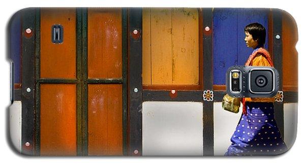 Galaxy S5 Case featuring the digital art Market Brake by Angelika Drake