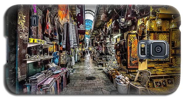 Market In The Old City Of Jerusalem Galaxy S5 Case