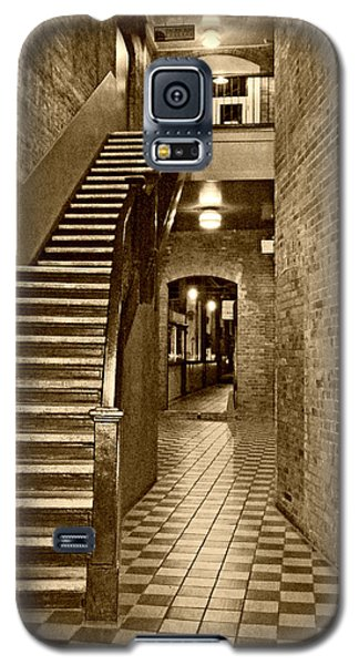 Market Square - Sepia 2 Galaxy S5 Case
