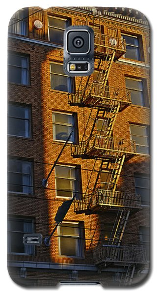 Market Street Area Building 4 Galaxy S5 Case