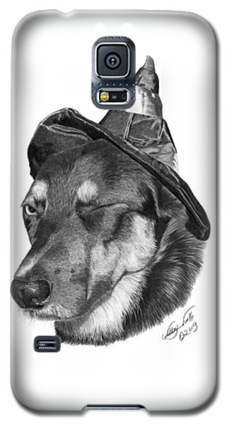 Marlee In Witch's Hat -021 Galaxy S5 Case by Abbey Noelle