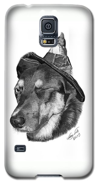 Marlee In Witch's Hat -021 Galaxy S5 Case
