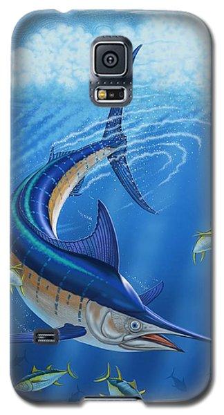 Galaxy S5 Case featuring the digital art Marlin by Scott Ross
