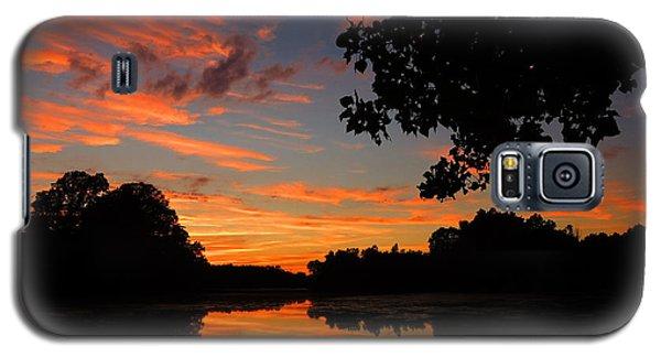 Marlu Lake At Sunset Galaxy S5 Case