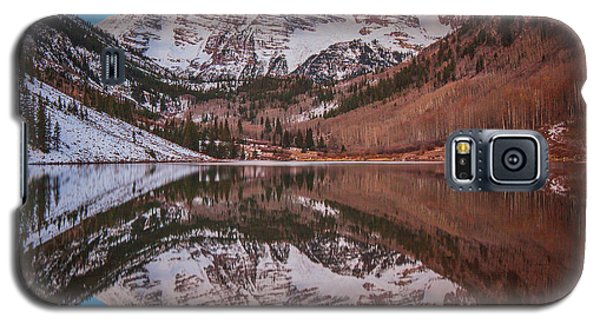 Maroon Bells Alpenglow Galaxy S5 Case