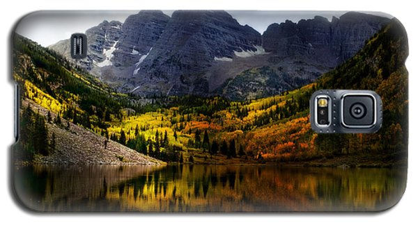 Galaxy S5 Case featuring the photograph Maroon Bells - An American Icon by Ellen Heaverlo