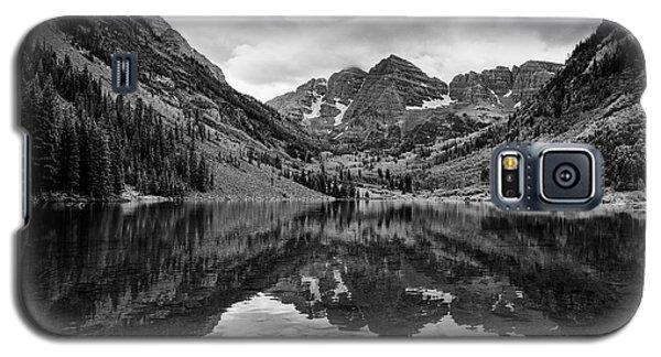 Maroon Bells - Aspen - Colorado - Black And White Galaxy S5 Case