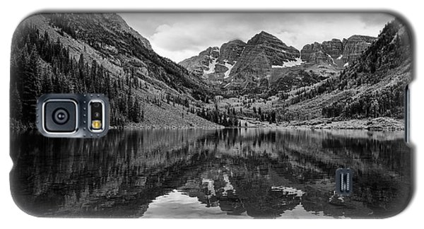 Maroon Bells - Aspen - Colorado - Black And White Galaxy S5 Case