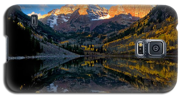 Maroon Bells Landscape Galaxy S5 Case by Ronda Kimbrow
