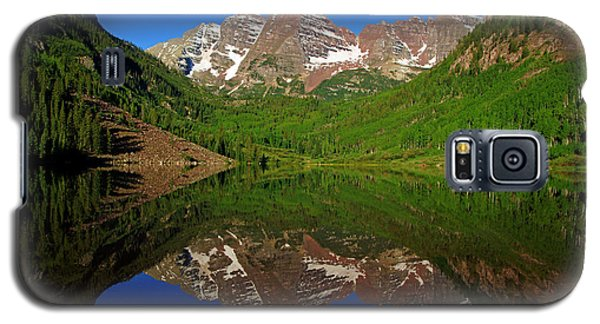 Maroon Bells Reflection Galaxy S5 Case