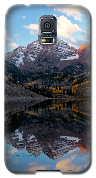 Galaxy S5 Case featuring the photograph Maroon Bells by Ronda Kimbrow
