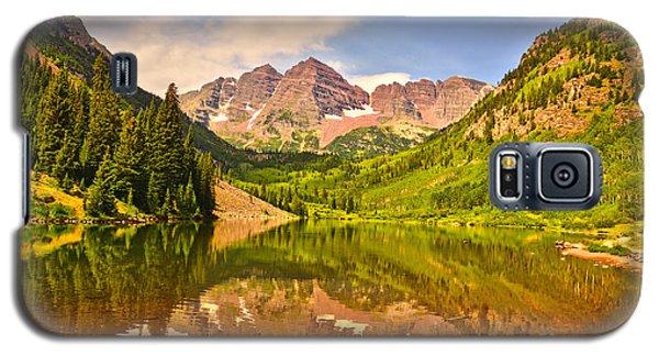Maroon Bells Summer Galaxy S5 Case