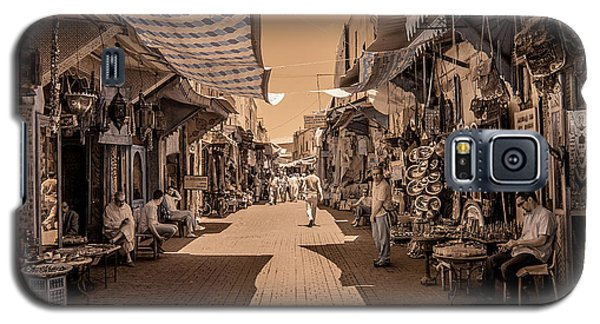 Marrackech Souk At Noon Galaxy S5 Case