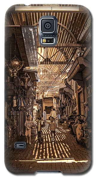 Marrakech Souk With Children Galaxy S5 Case