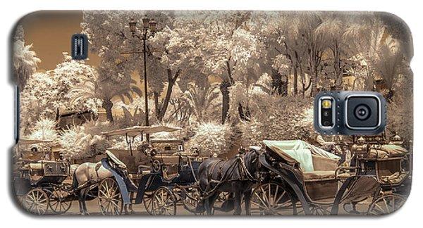 Marrakech Street Life - Horses Galaxy S5 Case