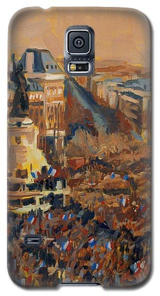 Mars Je Suis Charlie 11 Janvier 2015 Galaxy S5 Case