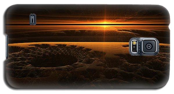 Marscape Galaxy S5 Case by GJ Blackman