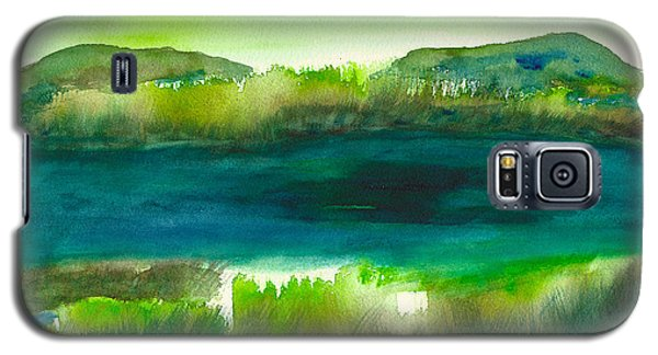 Marsh Abstract 3 By Frank Bright Galaxy S5 Case by Frank Bright