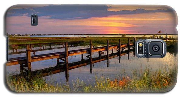 Marsh Harbor Galaxy S5 Case by Debra and Dave Vanderlaan