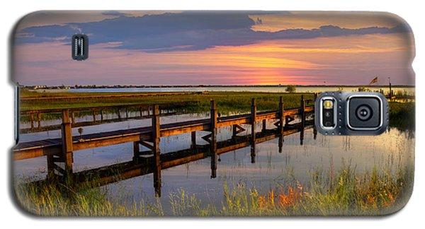 Marsh Harbor Galaxy S5 Case