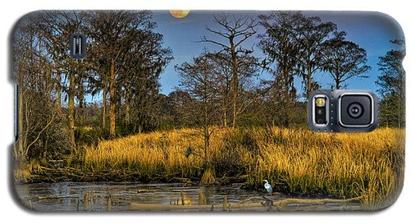 Pawleys Island Marsh Moon Galaxy S5 Case