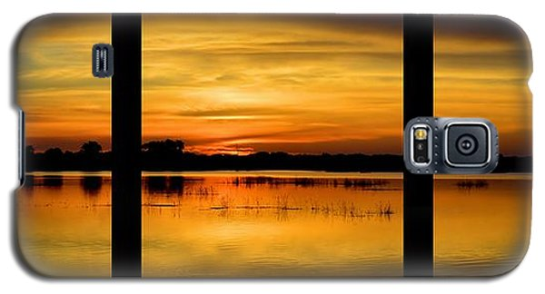 Marsh Rise Tiles 1-3 Galaxy S5 Case by Bonfire Photography