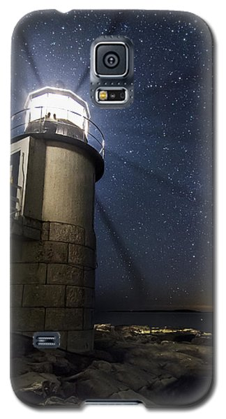 Marshall Lighthouse And The Night Sky Galaxy S5 Case