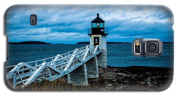 Marshall Point Light At Dusk 2 Galaxy S5 Case