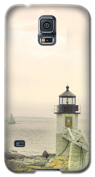 Marshall Point Lighthouse In Maine Galaxy S5 Case by Denyse Duhaime