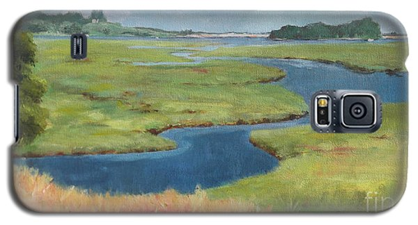 Marshes At High Tide Galaxy S5 Case