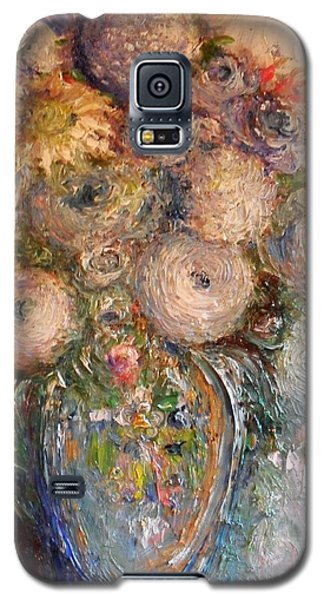Marshmallow Flowers Galaxy S5 Case