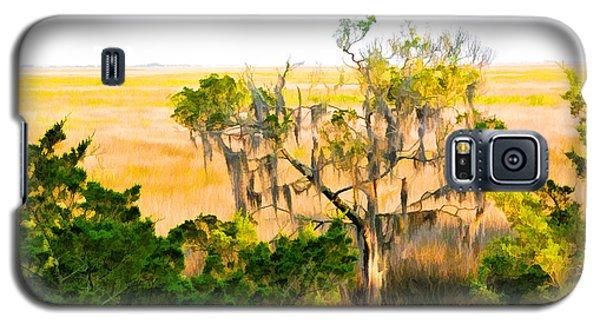 Marsh Cedar Tree And Moss Galaxy S5 Case